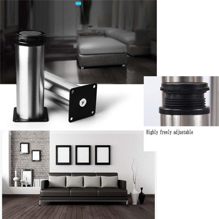 18cm Sofa Cupboard Cabinet Furniture Leg Adjustable Table