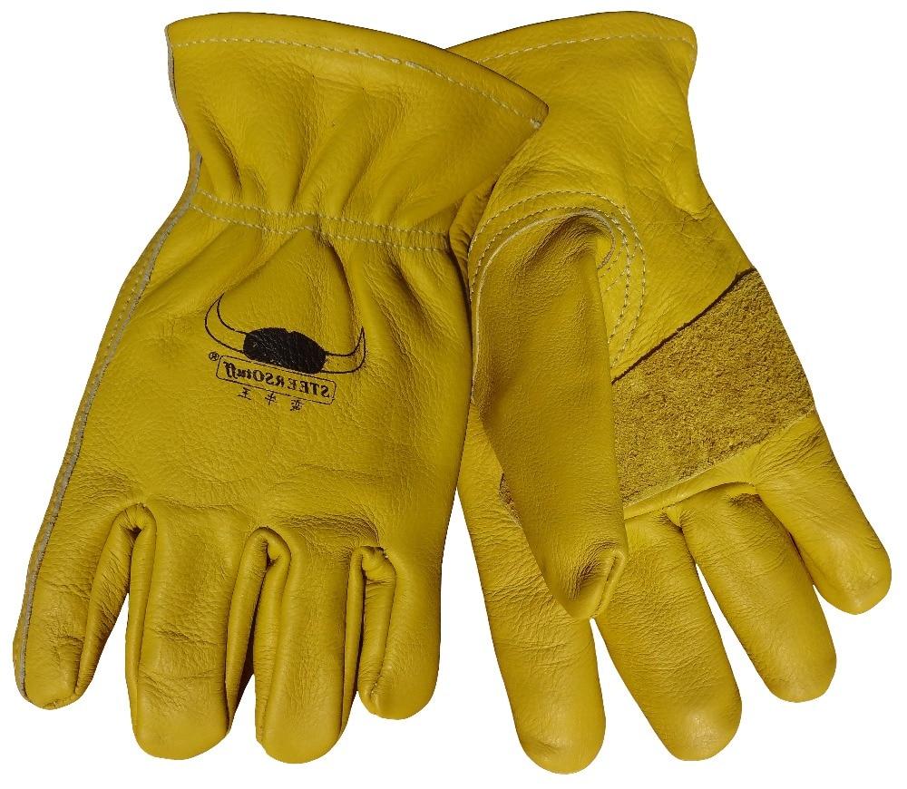 Կաշվե ձեռնոց Cow Grain Կաշվե - Անվտանգություն և պաշտպանություն