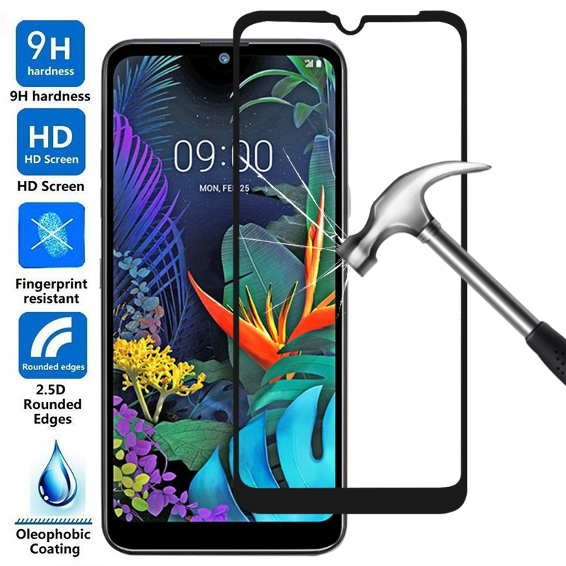 Full Tempered Glass on the for LG Q60 Q6 Q 60 6 safety protective glass for LG q6 lgq6 M700N lgq60 screen protector 9H glas film-in Phone Screen Protectors from Cellphones & Telecommunications