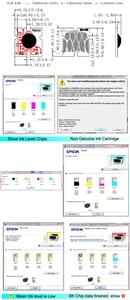 Image 2 - Boma. ltd t945 t946 t944 t948 t949 t950 arco chip reenchimento cartucho de tinta para epson workforce pro WF C5790 WF C5710 WF C5290 WF C5210