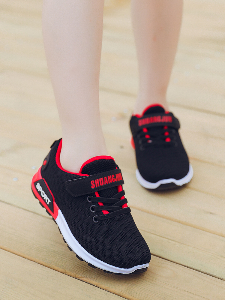2019 New Spring And Autumn Korean Children's Shoes Girls Sports Shoes Big Children's Mesh Boys Breathable Casual Shoes
