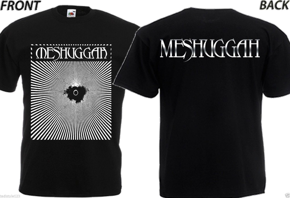 Joke T Shirts Mens Fashion Crew Neck New Dtg Print Tee T-Shirt Meshuggah Sizes S To 3XL Short-Sleeve T Shirts