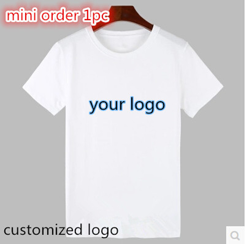 60852704 quick custom tees Personalized Custom T Shirt with Photo & Text and/or Logo make  your own design women men team t shirt tops-in T-Shirts from Women's ...