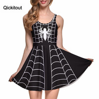 Plus Size Summer Style Women S Sexy Dress Halloween Costumes Women Cute Party Casual Spider Man