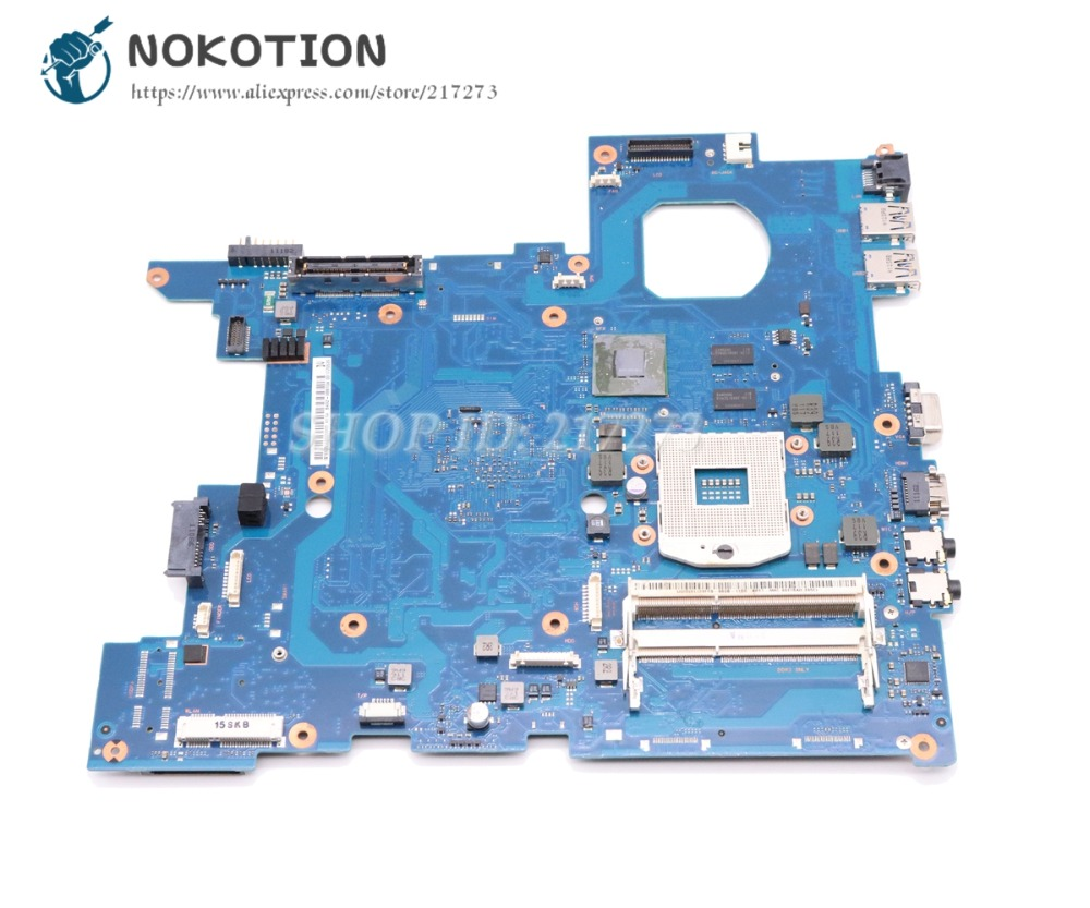 NOKOTION BA92-08810A BA92-08810B For Samsung NP-600B5B 600B4B 600B5B-S02 Laptop motherboard QM67 DDR3 NVS4200M graphics manufacturer motherboard with atom itx2550 n2600 cpu supporting 8 usb 2 rj45 port 6 com 1 lpt