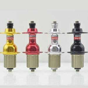 Складной задний велосипедный концентратор Novatec F172SB, 4 герметичных подшипника, 24 28 32 36 отверстий, 130 мм, 11 скоростей