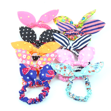 18 inch Girls doll accessories Mixed sale 10 pcs colored rubber hair band American newborn Baby toys fit 43 cm baby dolls c510