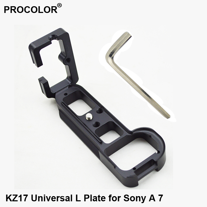 New Universal Vertical Aluminum Quick Release L Plate Bracket Fast Mounting Plate For Sony A7 Arca Swiss Quick Shoe
