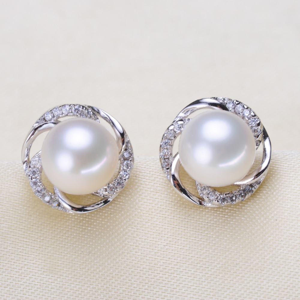 Trendy Pearl Earrings Mountings Beautiful Hot Wholesale Earrings Findings Earrings Settings Jewelry Stud Earrings Accessories