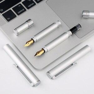 Image 3 - Ручка перьевая Moonman N1 из алюминиевого сплава, короткая, 0,38/0,5 мм