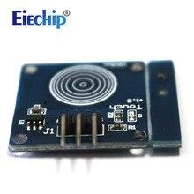 Free shipping Smart Electronics Blue Digital TTP223B Sensor Module Capacitive Touch Switch for arduino Diy Starter Kit