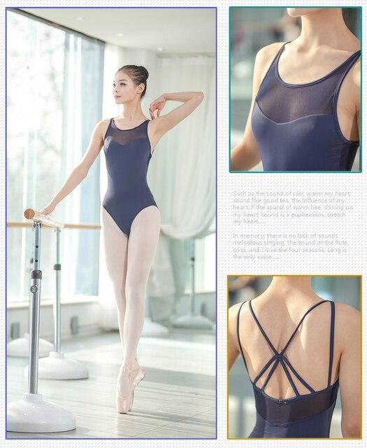 Justaucorps au dos pour femmes, vêtements de danse pour adultes, ensemble Sexy de gymnastique au dos, nouveauté 2020