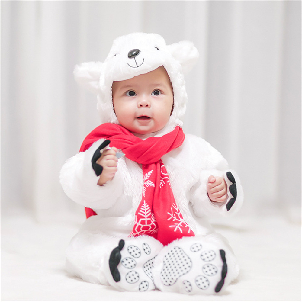 Humor Baby Boys Girls Carnival Halloween Lion Costume Romper Kids Clothes Set Toddler Cosplay Animal Jumpsuits Infant Clothes Home