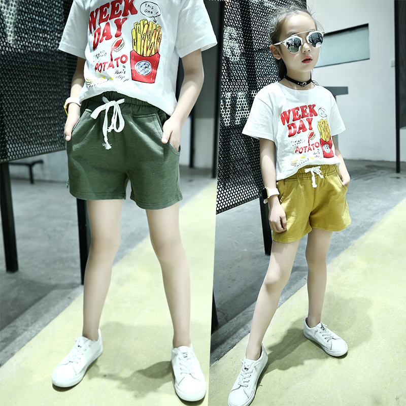 4 14 Years Old Children Fashion Hot Shorts For Big Girls -6133