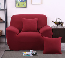 Flexible Stretch Sofa Cover Big Elasticity Couch Cover Loveseat Sofa  Funiture Cover Brief Design Machine Washable Sofa Slipcover