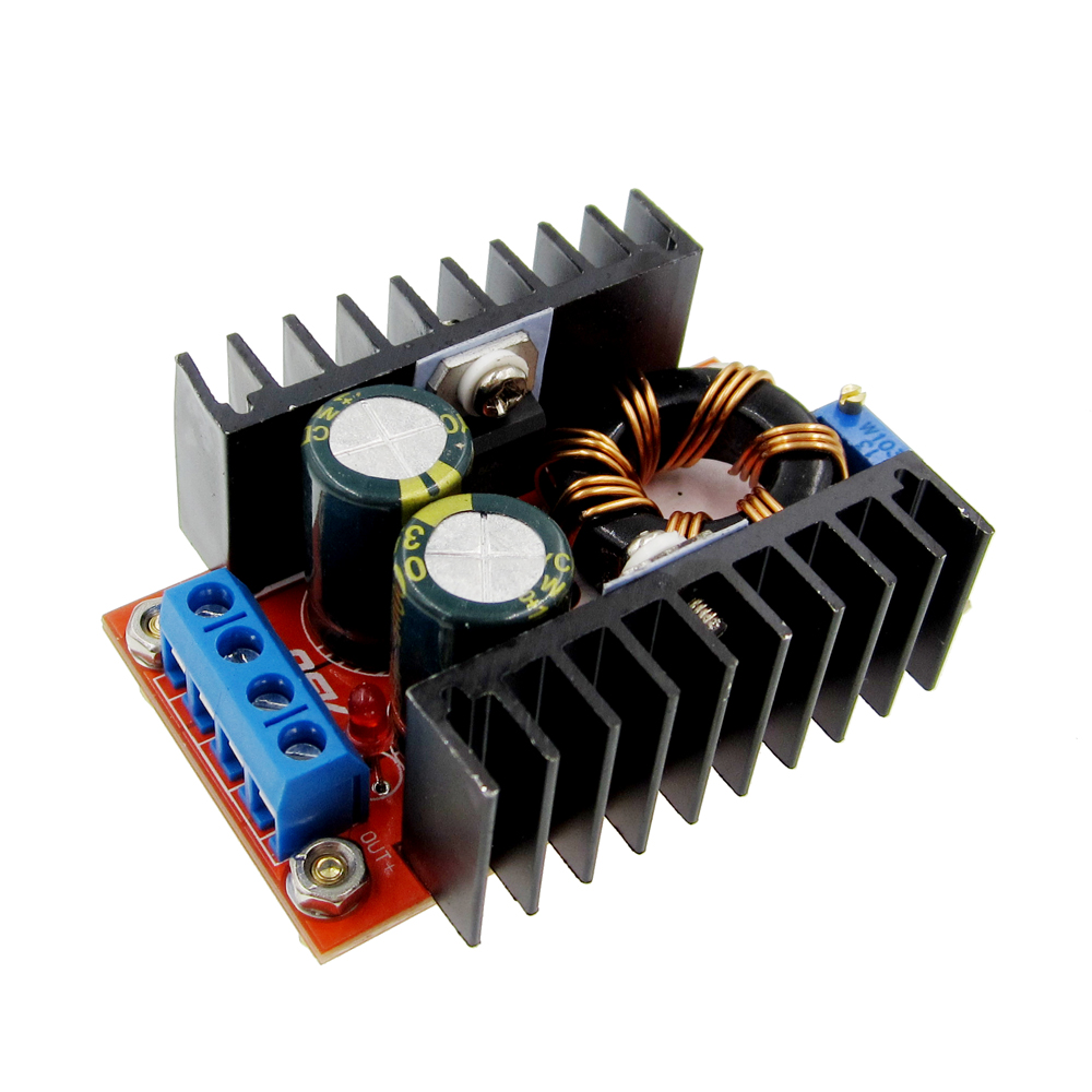 HAILANGNIAO 1pcs 150W Boost Converter DC-DC 10-32V To 12-35V Step Up Voltage Charger Module