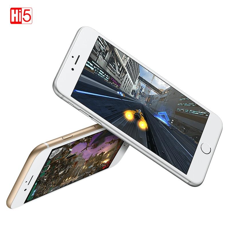 "Unlocked Apple Iphone 6 Plus Dual Core 16GB/64GB/128GB ROM 5.5"" IOS 8MP Camera 4K Video LTE Fingerprint Single SIM Smart Phone"