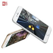 "هاتف Apple iPhone 6 plus مفتوح ثنائي النواة 16 GB/64 GB/128 GB ROM 5.5 ""IOS 8MP كاميرا 4K فيديو LTE بصمة واحدة سيم هاتف ذكي"