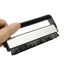 LEORY Vinyl Records Handle Carbon Fiber DuPont Brush Cleaning Scrubbing Brush For Turntable LP Phonograph Records Longplay(China)