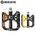 BIKEIN горный велосипед  не скользит  1 герметичная педаль подшипника BMX  плоская педаль  платформа  педали для велоспорта  Ультралегкая педаль ...