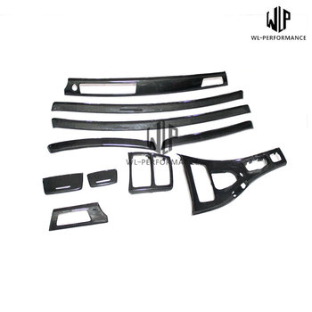 E92 M3 Car Interior Accessories Door Veneer Carbon Fiber Replacement For BMW 3 Series Car Body Kit 2005-2012