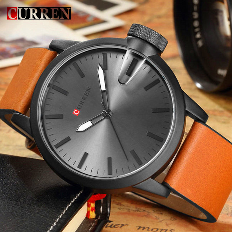 online get cheap rugged watches for men aliexpress com alibaba curren watches for mens 2017 top brand luxury black analog quartz watch men waterproof leather sports