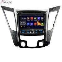 Topnavi 8 ''4 ядра Android 5.1 автомобиль GPS навигации для Hyundai Sonata i40 i45 i50 YF 2011-автомобиль DVD мультимедиа стерео аудио