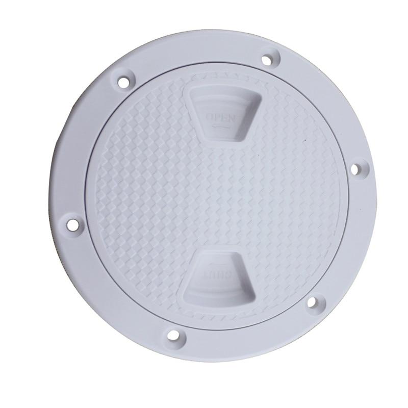 Anti-slip Plastic Round Access Hatch Cover Lid Deck Plate Panel Boat Marine