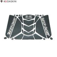 KODASKIN Side Tank Pad Motorcycle Knee Pad Decals Protectors Stickers Emblem for Kawasaki ZX 6R 636 600 ZX6R