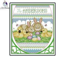 Joy Sunday,Happy partners,Cross stitch embroidery,printing embroidery kit,Printed cross kit,Cartoon picture