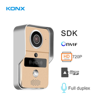 Vender KW02C Smart WIFI Video portero inalámbrico con MicroSD intercomunicador totalmente dúplex desbloqueado IR visión nocturna compatible