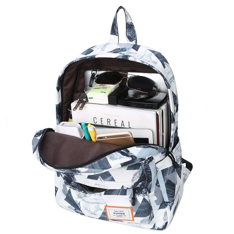 рюкзаки для девочек подростков рюкзак женский рюкзак школьный портфель школьный школьный рюкзак рюкзаки женские рюкзак школьный для девоч... - 5