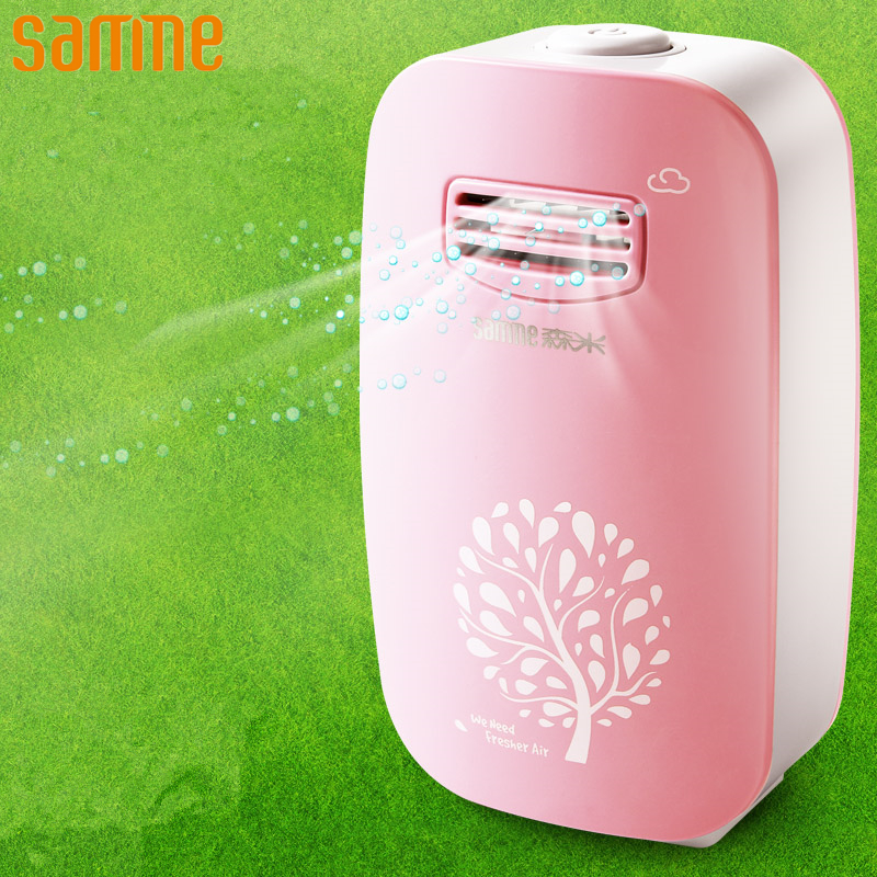 Air Purifier Portable Ozone Generator Anion Ionizer Disinfection Sterilize Dusting Fresh Air Purifier for Home Mini Air Cleaner цена
