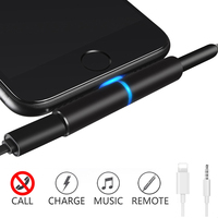 Hoofdtelefoon Adapter voor iphone 7/8/X 2 in 1 opladen adapter voor lightning jack te hoofdtelefoon 3.5mm jack muziek en opladen kabel