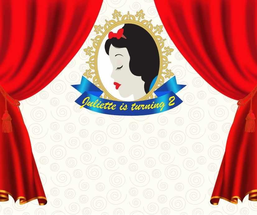 На заказ Белоснежка день рождения красные шторы обои высокого качества компьютер вечерние партии фон