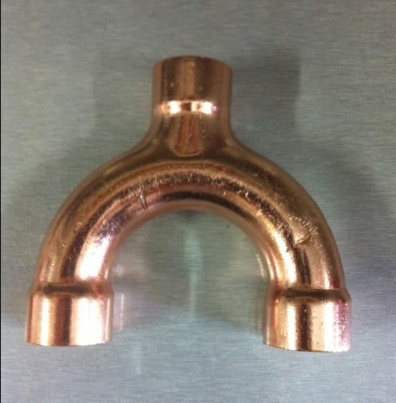 22mm Hvac Equal Welding Copper Y Type Tee Fittings