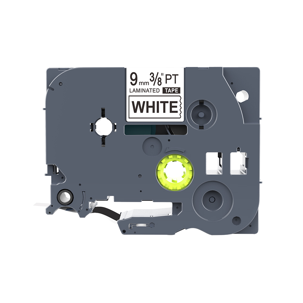 10PK Black on White Tape for Brother PT1280 GL-100 TZ 221 TZe 221 P-Touch 9mm