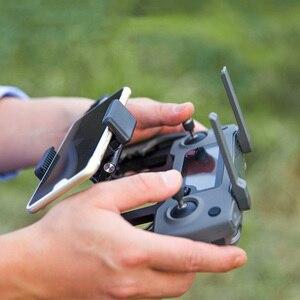 Image 3 - Металлический держатель для пульта дистанционного управления DJI, держатель для планшета, опорный лоток для телефона DJI MAVIC Air 2 /PRO /Air /Mavic 2 /Mavic MINI /Spark