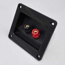 Hot sale speaker wiring box audio accessories ternminal trepanned 75 column/Free shipping