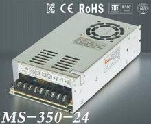 Alimentation de commutation LED 24 V 14.6A, 350 W, sortie unique, taille Mini, transformateur, fonte 24 V MS-350-24, prix d'usine