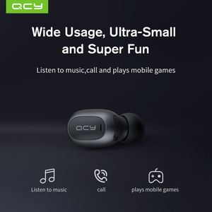 Image 4 - 2018 QCY MINI2 Bluetooth אוזניות עם מיקרופון אלחוטי אוזניות מוסיקה עסקים Earbud רעש מבטל עבור Iphone אנדרואיד