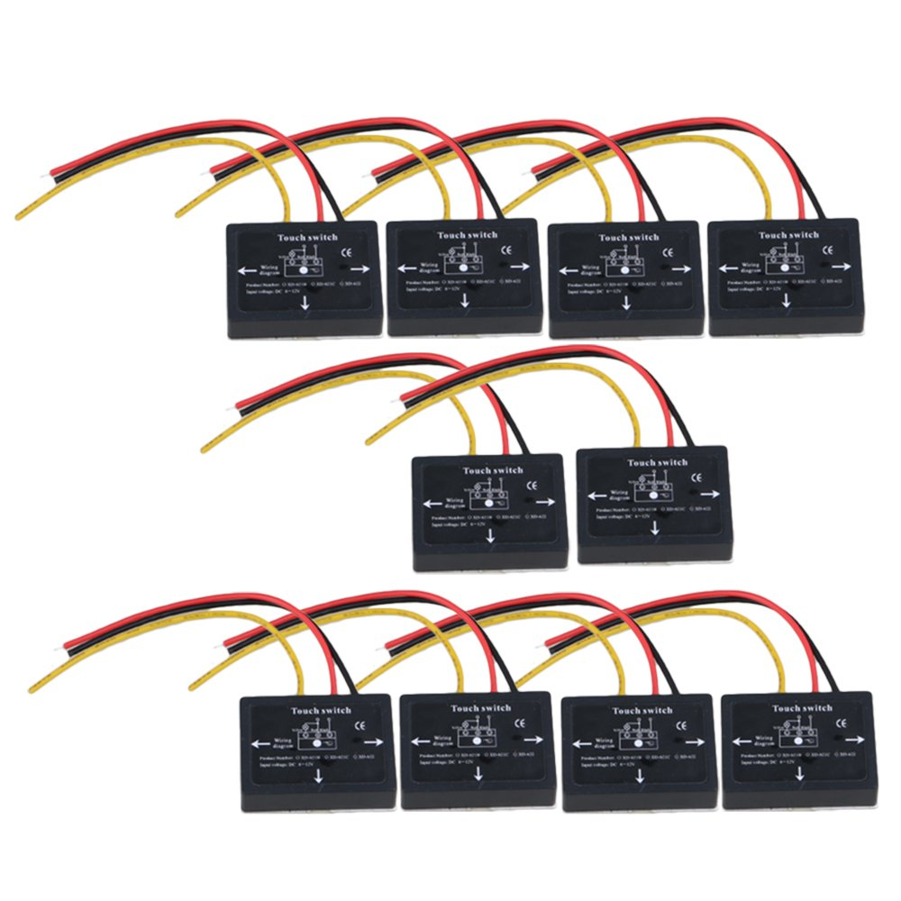 10/20/50/100Pcs XD-622 6-12V DC 36W Stepless Dimming Touch Switch For LED Lamps Etc