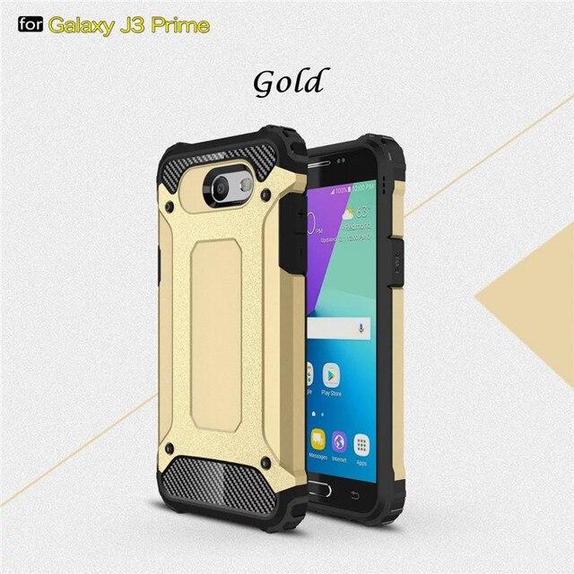 timeless design 14301 93f9c US $3.28 |For Samsung Galaxy J3 Prime Case Cover Shockproof Cases For  Samsung J3 Prime 5.0