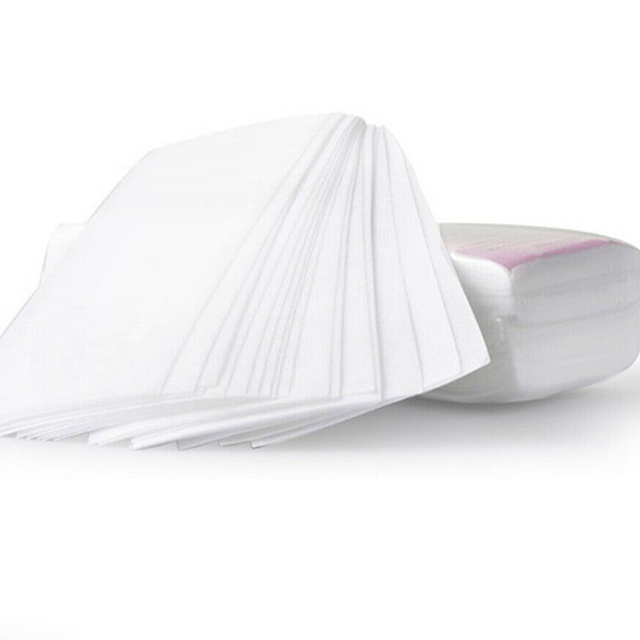 100pcs Removal Nonwoven Body Cloth Hair Remove Wax Paper Rolls High Quality Hair Removal Epilator Wax Strip Paper Roll P2