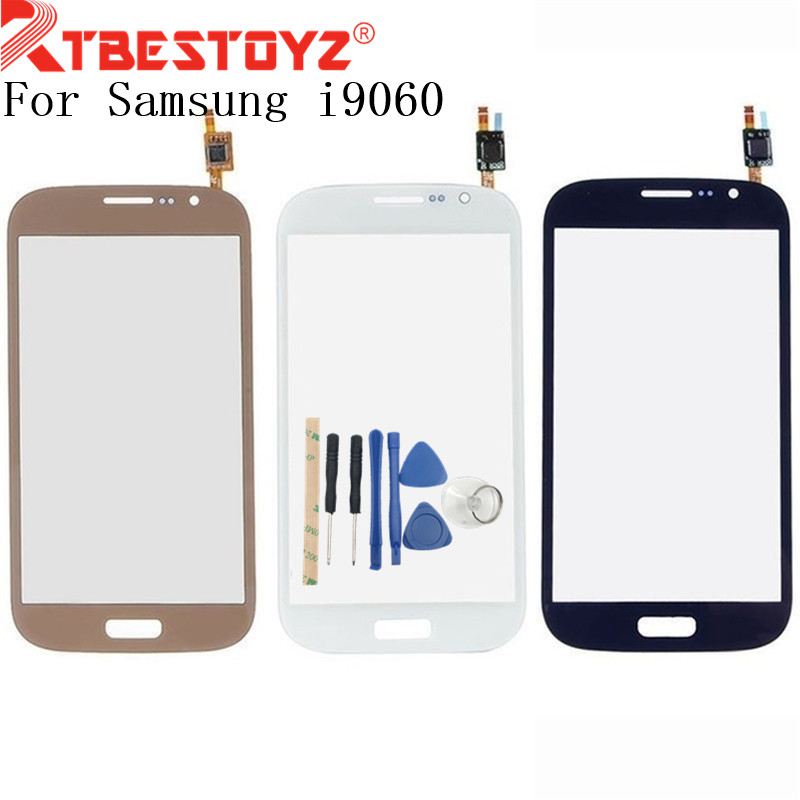RTBESTOYZ Touch Glass Panel For Samsung Galaxy Grand Neo Plus i9060i i9060 touch Screen Digitizer Glass