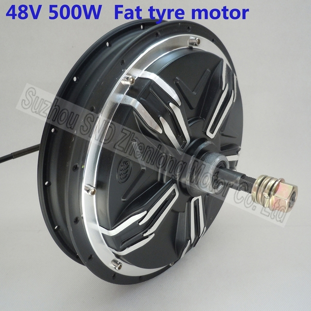 Buy electric bike fat tyre rear spoke hub for Fat bike front hub motor