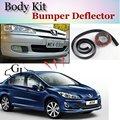 Deflector pára Lábio Lábios Para Peugeot 406 407 408 508 Spoiler Dianteiro saia Para Os Fãs de TopGear Opinião Do Carro Tuning/Body Kit/Strip