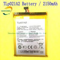 1PCS 100 High Quality 2150mAh TLp021A2 Battery For Alcatel One Touch Idol 2S S830u S838m OT