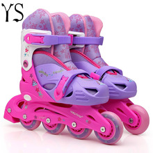 patins 4 rodas Inline Speed 3 4 Wheels Roller Shoes Rollerblading Double Adult Roller Women Professional Quad For Sale YS x140