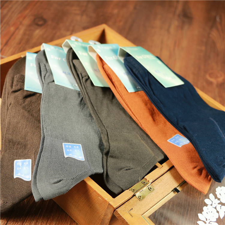 Ultrathin Male Cotton Socks Summer Comfortable Commercial Men Socks Wholesale 5 pairs different colors free shipping